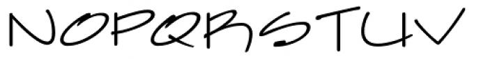 Farfel ICG Pencil Font UPPERCASE