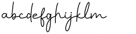 Faritta Regular Font LOWERCASE