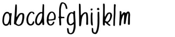 Farmer's Marker Regular Font LOWERCASE