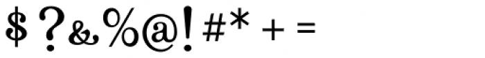 Farola Simple Font OTHER CHARS