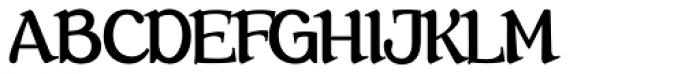 Farola Simple Font UPPERCASE