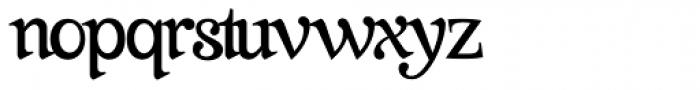 Farola Simple Font LOWERCASE