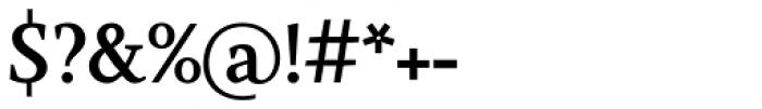 Farrerons Serif Demi Bold Font OTHER CHARS