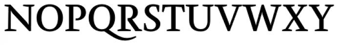 Farrerons Serif Demi Bold Font UPPERCASE