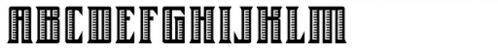 Farrier ICG Shaded Font UPPERCASE