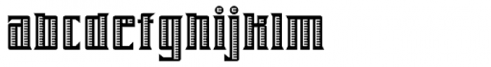 Farrier ICG Shaded Font LOWERCASE