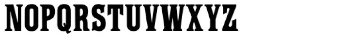 Farringdon Font UPPERCASE