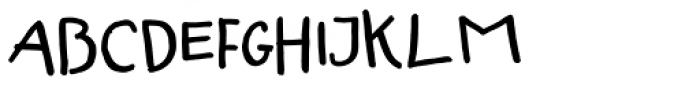 Fartitudo Comica Font LOWERCASE