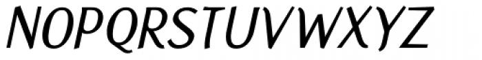 Fasciani Senza Italic Font UPPERCASE