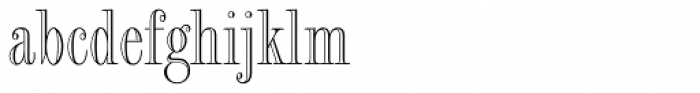 Fashion Std Engraved Font LOWERCASE