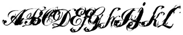 Fashyon Font UPPERCASE