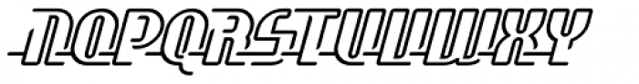 Fast Girls Wired For Speed Font UPPERCASE