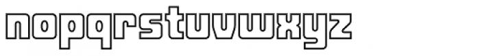 Fat Albert BT Outline Font LOWERCASE