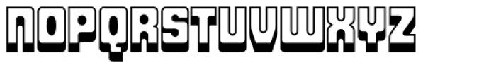 Fat Albert BT Shadow Font UPPERCASE