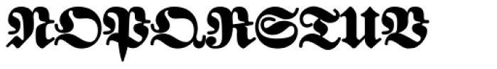 FatFritzPlus Font UPPERCASE
