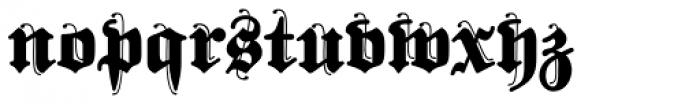 FatFritz Font LOWERCASE