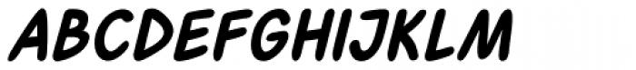 Fatality Bold Italic Font LOWERCASE
