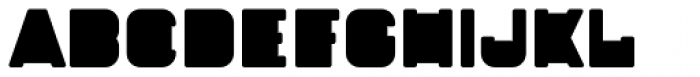 Fatbrass Rounded Font UPPERCASE