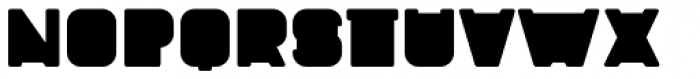 Fatbrass Rounded Font LOWERCASE