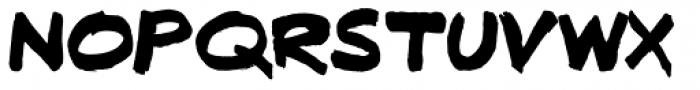 Fatbrush DT Font UPPERCASE