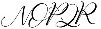 Fathir Script Regular Font UPPERCASE