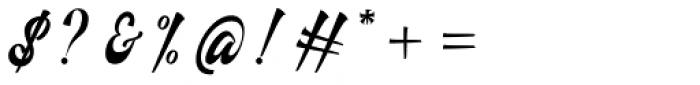 Fathoni Regular Font OTHER CHARS