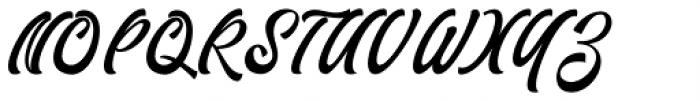 Fathoni Regular Font UPPERCASE