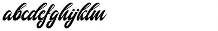 Fathoni Regular Font LOWERCASE