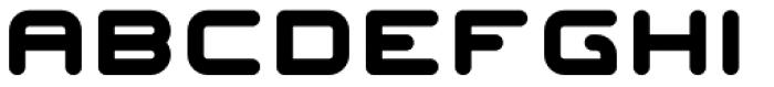 Fatman Font LOWERCASE