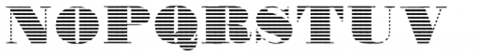 Fatone E Font UPPERCASE