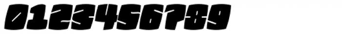 Fatquad 4F Cond Italic Font OTHER CHARS