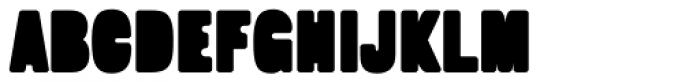 Fatso Stuffed Font UPPERCASE
