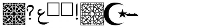 Faux Arabic Regular Font OTHER CHARS