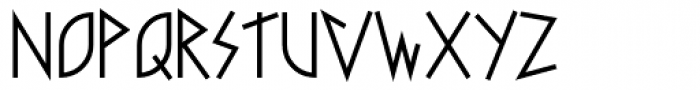 Faux Runic Regular Font UPPERCASE
