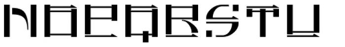 FauxChinese Regular Font UPPERCASE