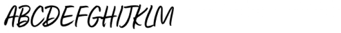 Fave Casual Script Pro Font UPPERCASE