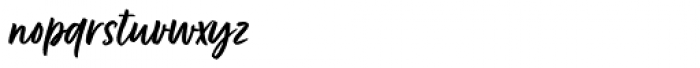 Fave Script Bold Pro Font LOWERCASE