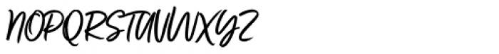Fave Script Pro Font UPPERCASE