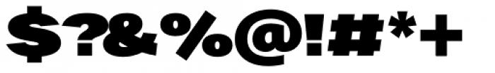 Favela Black Font OTHER CHARS