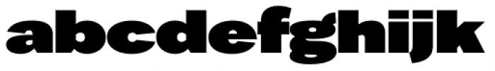 Favela Black Font LOWERCASE