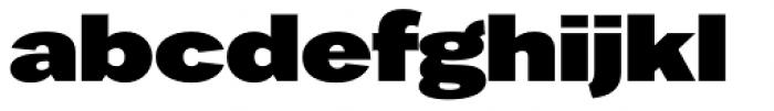Favela Bold Font LOWERCASE