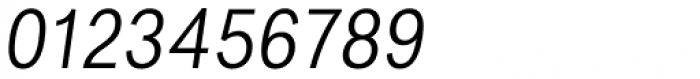 Favela Light Italic Font OTHER CHARS
