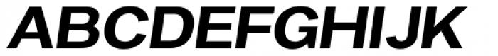 Favela Medium Italic Font UPPERCASE