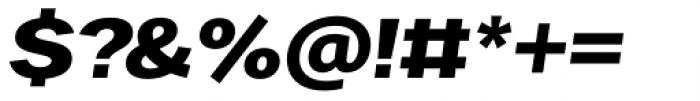 Favela Semi Bold Italic Font OTHER CHARS