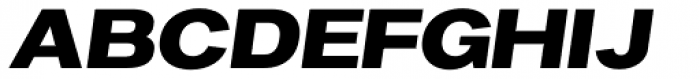 Favela Semi Bold Italic Font UPPERCASE