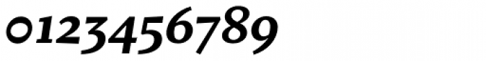 Fazeta Caption Black Italic Font OTHER CHARS