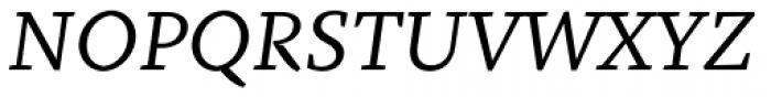 Fazeta Caption Italic Font UPPERCASE