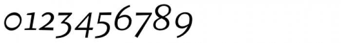 Fazeta Caption Light Italic Font OTHER CHARS