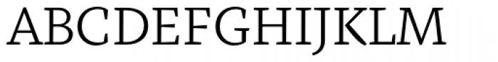 Fazeta Caption Light Font UPPERCASE