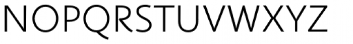 Fazeta Sans Ultra Light Font UPPERCASE